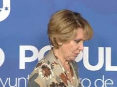Esperanza Aguirre comparece en la comisión de corrupción
