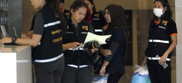 La Policía tailandesa localiza a dos sospechosos del asesinato del español descuartizado