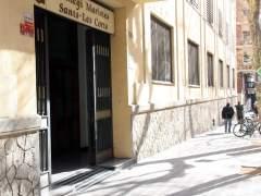 Los Mossos se personan en Maristas de Sants-Les Corts