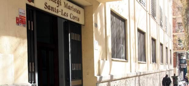 Plano general de la escuela Maristes Sants-Les Corts de Barcelona.