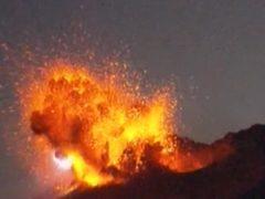 El volcán Sakurajima