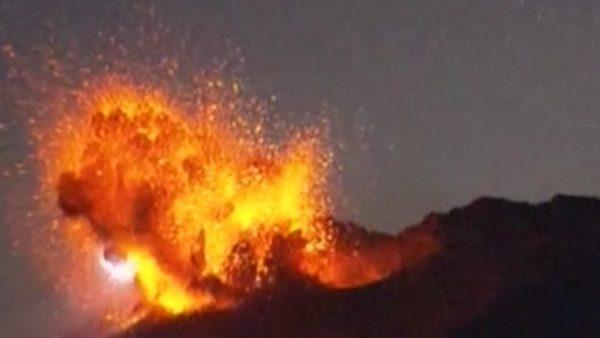 El volcán Sakurajima muestra todo su poder
