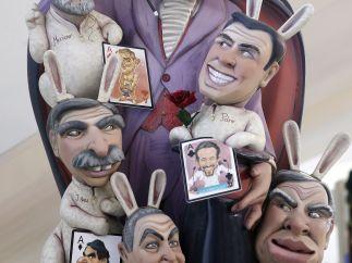 Pablo Iglesias, un 'mago ninot'