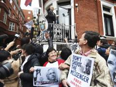 "Assange celebra una ""victoria histórica"""