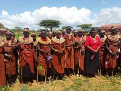 Las chicas samburu aprenden a convertirse en mujeres sin sufrir la ablación