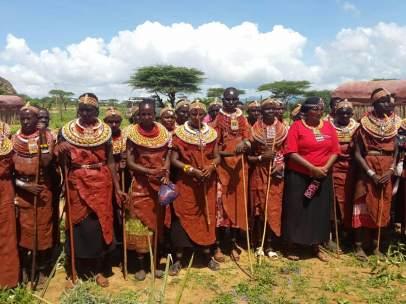 Mujeres kenia