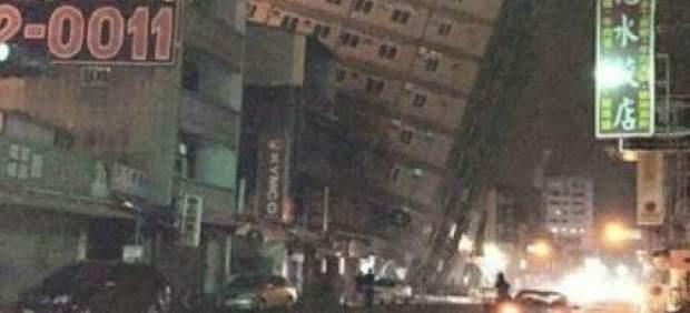 Un terremoto de magnitud 6,4 sacude Taiwán: al menos seis muertos y 120 atrapados