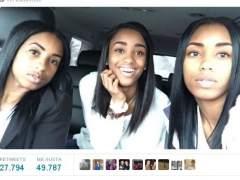 El 'selfie' viral que arrasa en Internet: ¿cuál de las tres es la madre?