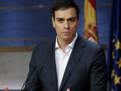 """Pedro Sánchez: """"Hay mimbres para una alianza progresista y de cambio"""""""