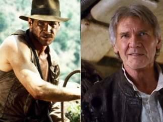 Indiana Jones y Han Solo