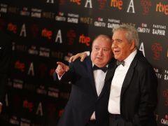 Pajares y Esteso celebran el Goya de Honor de Ozores