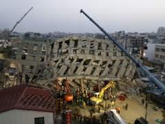 Un terremoto de magnitud 6,4 sacude Taiwán