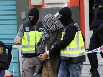 Operación antiyihadista en Ceuta