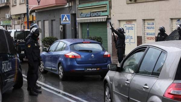 Operación policial antiyihadista