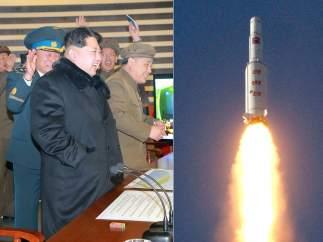 Corea lanza un cohete de largo alcance