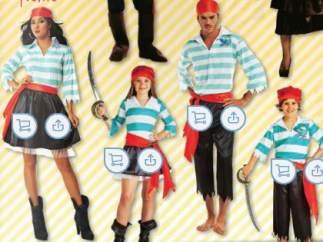 Sexismo en disfraces