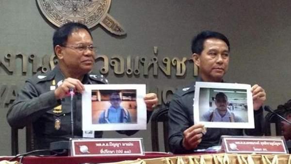 Policía tailandesa muestra imágenes de Artur Segarra