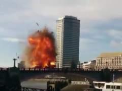 Explosión durante un rodaje