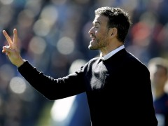 Luis Enrique, al nivel de Guardiola