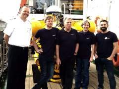 Dos científicos descenderán al volcán de El Hierro a bordo de un submarino tripulado