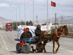 Merkel llega a Turquía para analizar la entrada de refugiados en Europa