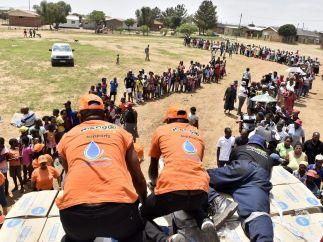 Sequía pertinaz en Sudáfrica