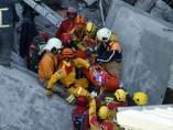rescate terremoto Taiwan