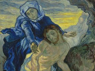 Vincent van Gogh - Pietà (after Delacroix), 1889