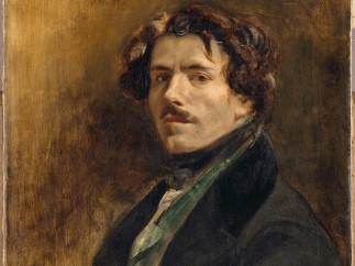 Eugène Delacroix - Self Portrait, about 1837