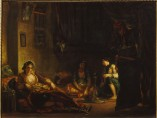 Eugène Delacroix - Women of Algiers in their Apartment, 1847-9
