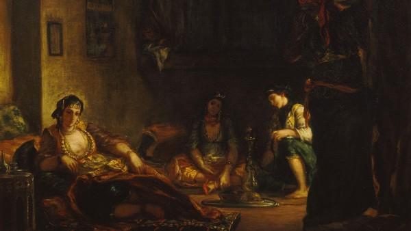 Eugène Delacroix - Women of Algiers in their Apartment, 1847-9