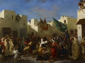 Eugène Delacroix - Convulsionists of Tangier, 1837-8