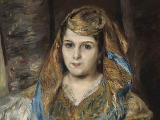 Pierre-Auguste Renoir - Madame Clémentine Valentine Stora (L'Algérienne), 1870