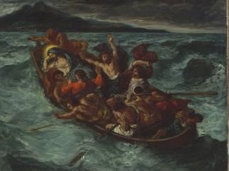Eugène Delacroix - Christ on the Sea of Galilee, 1853