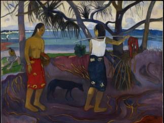 Paul Gauguin - I Raro Te Oviri (Under the Pandanus), 1891