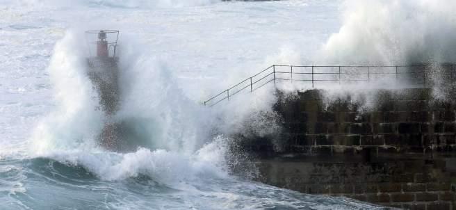 Impresionante temporal en el norte de España