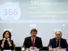 Justicia cifra en 28,6 millones el ahorro en un mes por el 'papel cero'