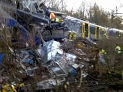 Varios muertos y más de 150 heridos en un choque de trenes en Alemania