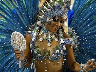 El carnaval no para en Río de Janeiro
