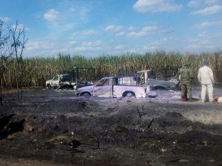 Explosión de un oleoducto
