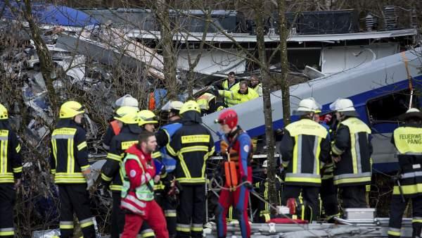 Accidente de tren en Alemania