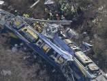 Choque entre dos trenes en Baviera, Alemania
