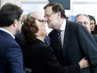Rita Barberá junto a Mariano Rajoy
