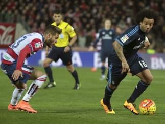 Marcelo ante el Granada