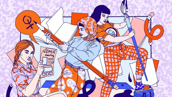 Laura Callaghan - Comix Creatrix at the House of Illustration