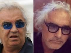 Flavio Briatore sorprende con una fotografía en la que aparece con una 'nueva cara'