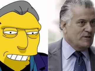 Tony el gordo ('Los Simpson') - Luis Bárcenas