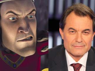 Principe Farquaad - Artur Mas