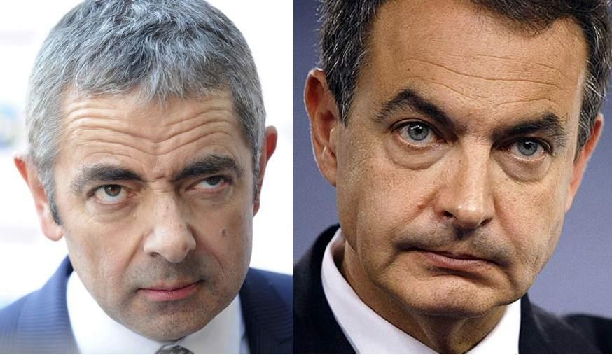 Foto Mr Bean Jose Luis Rodriguez Zapatero Politicos Con