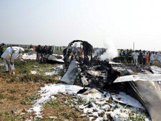 Accidente de avión en Birmania